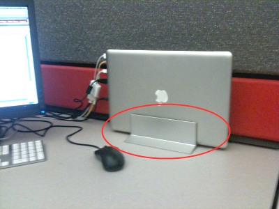 Macbook with Docking Stand